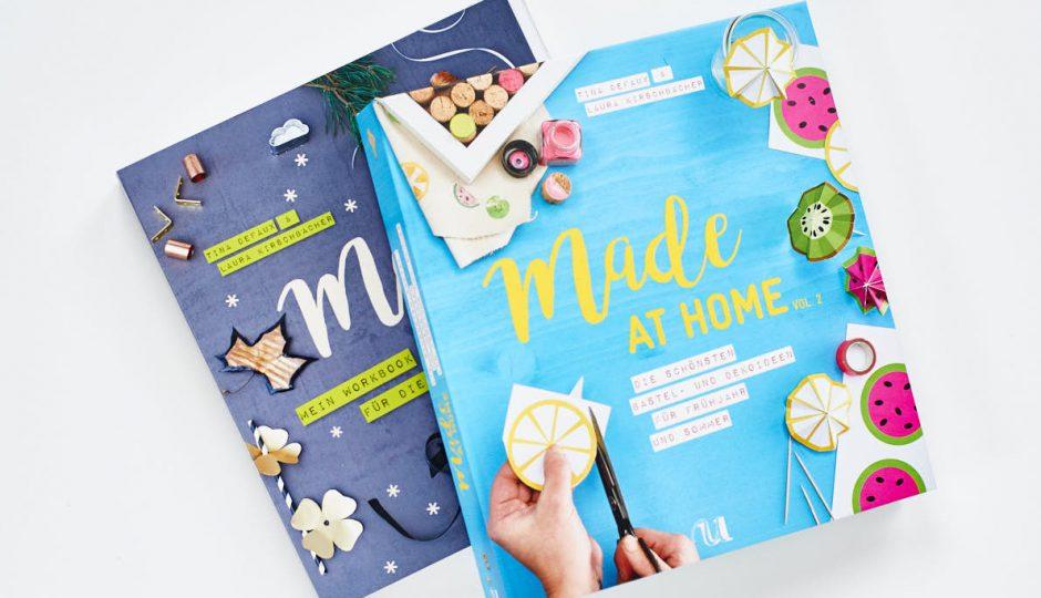 Bücher mit tollen DIY-Ideen für das ganze Jahr - Made at Home Neuer Umschau Verlag