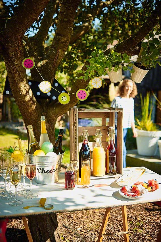 DIY Ideen für die nächsten Garten-Party