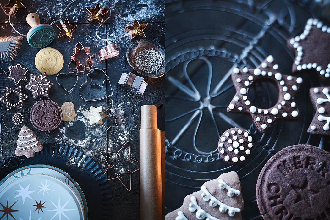 Hübsche Keksausstecher in Kupfer für die nächsten Weihnachts-Plätzchen von DEPOT - Produkt-Fotografie: Anna Schneider / neon fotografie Styling: Eva Schwarz