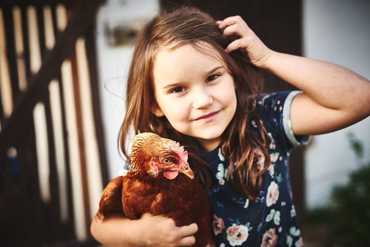Leben auf dem Bauernhof Glabach - stimmungsvolle Fotoreportage Bauernhof
