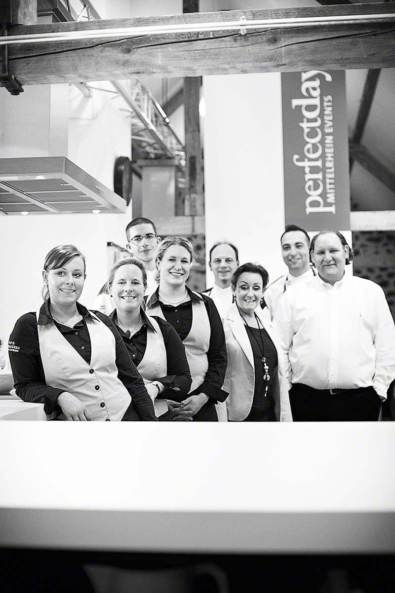 Das Team der Kochschule Perfect Day - Editorial-Fotografie: Anna Schneider neon fotografie