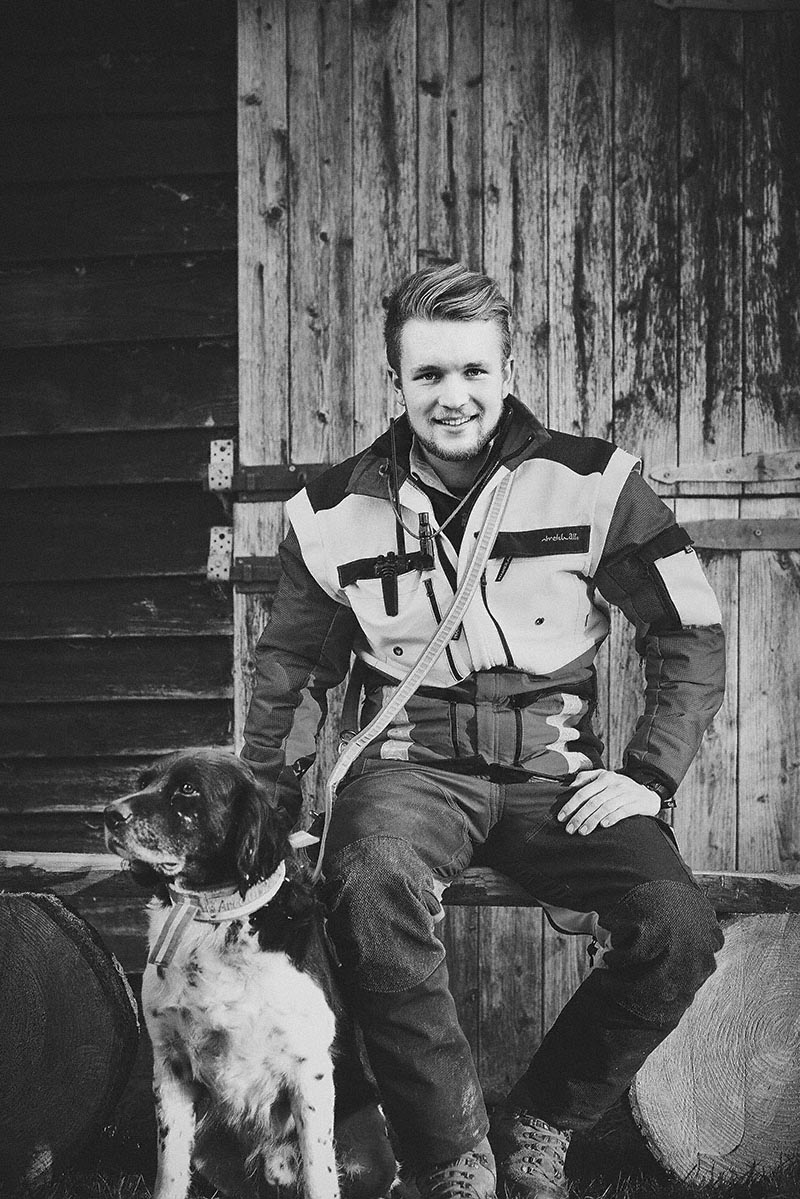 Portrait Jäger - Jagd-Reportage mit Sternekoch Harald und Maximilian Rüssel Fotos: neon fotografie