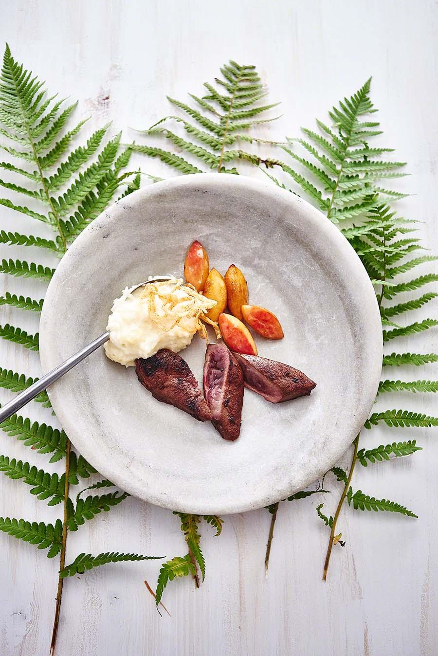 Rehleber - Foodfotografie für das Kochbuch WILD von Harald und Maximilian Rüssel