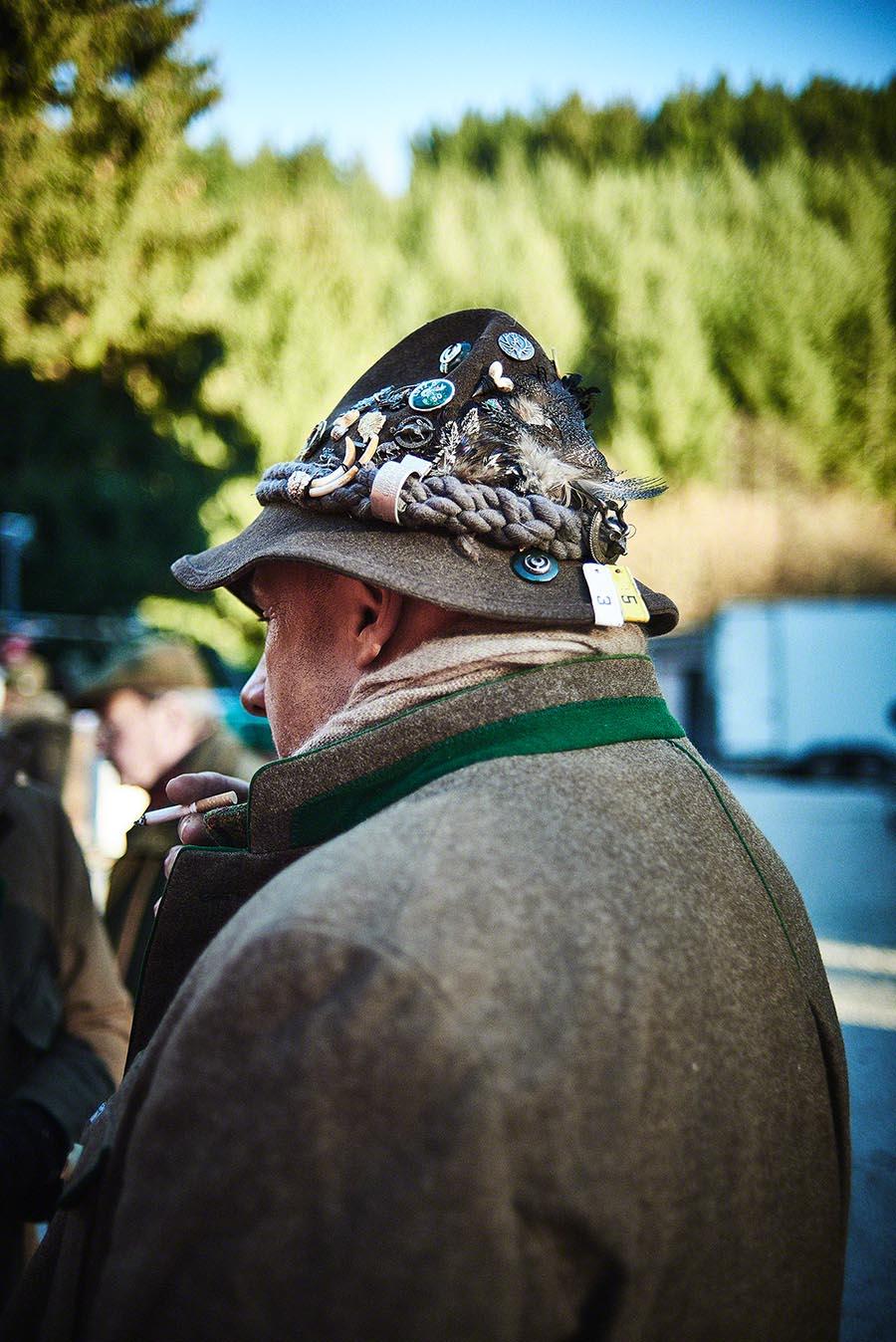 Jagd-Kleidung - Jagd-Reportage mit Sternekoch Harald und Maximilian Rüssel Fotos: neon fotografie