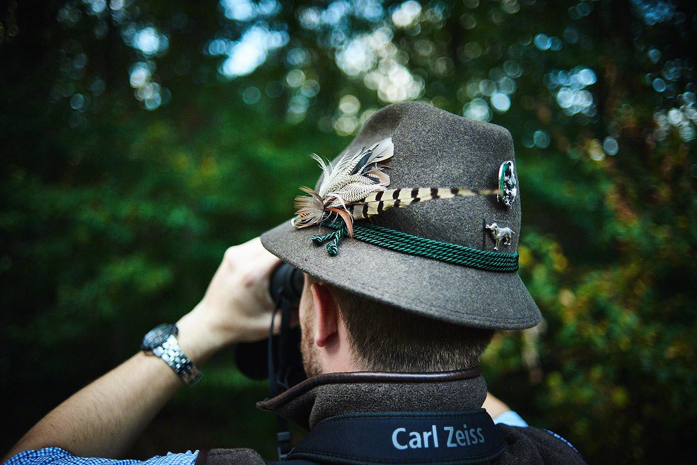 Jägerhut - Jagd-Reportage mit Sternekoch Harald und Maximilian Rüssel Fotos: neon fotografie