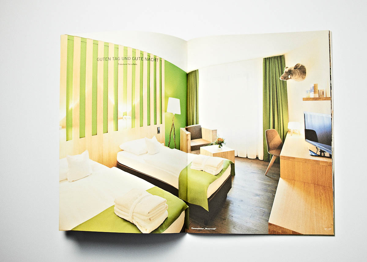 Imagebroschüre Hotel Zugbrücke Grenzau