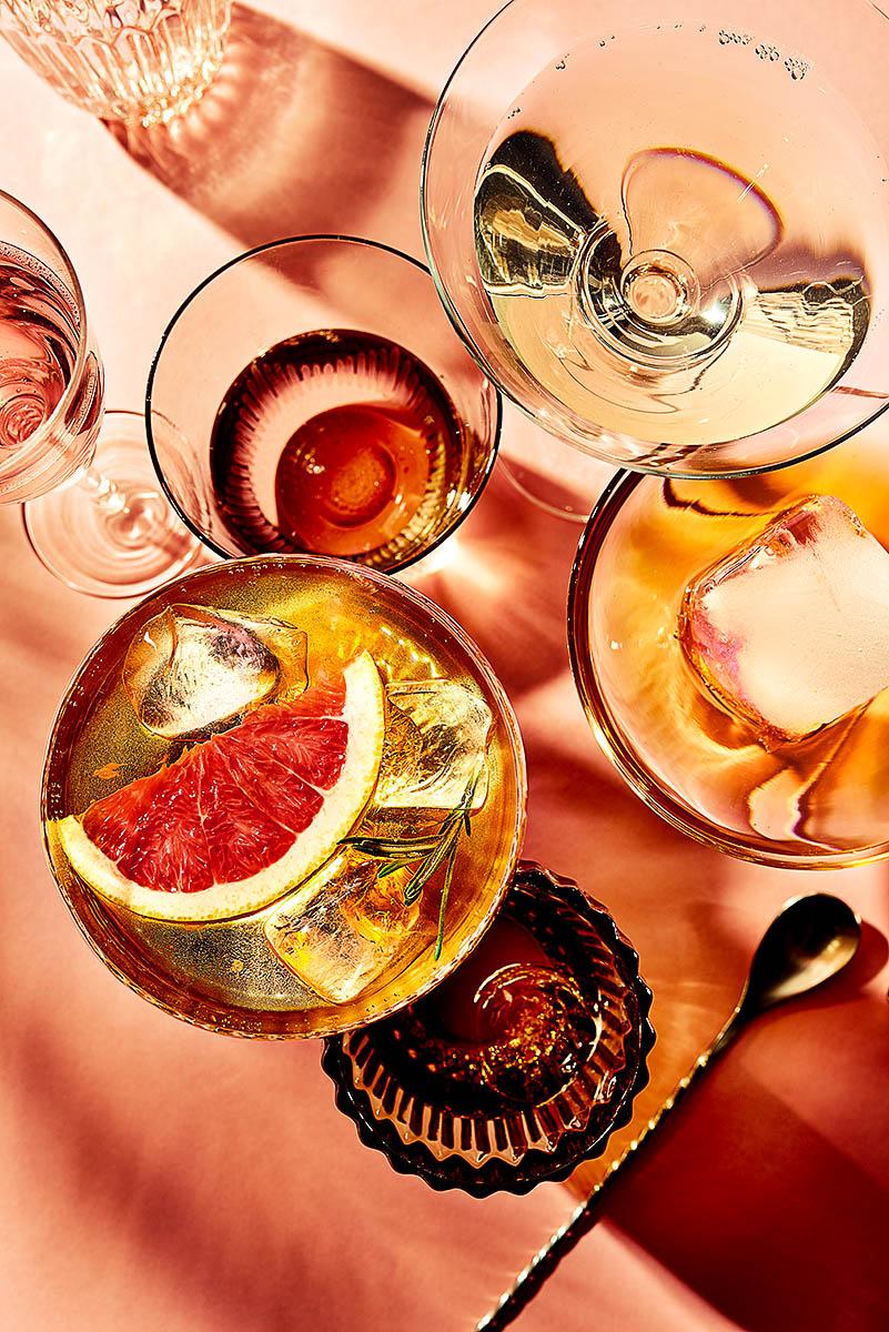 Blutorangen Cocktails mit Salome Kleb