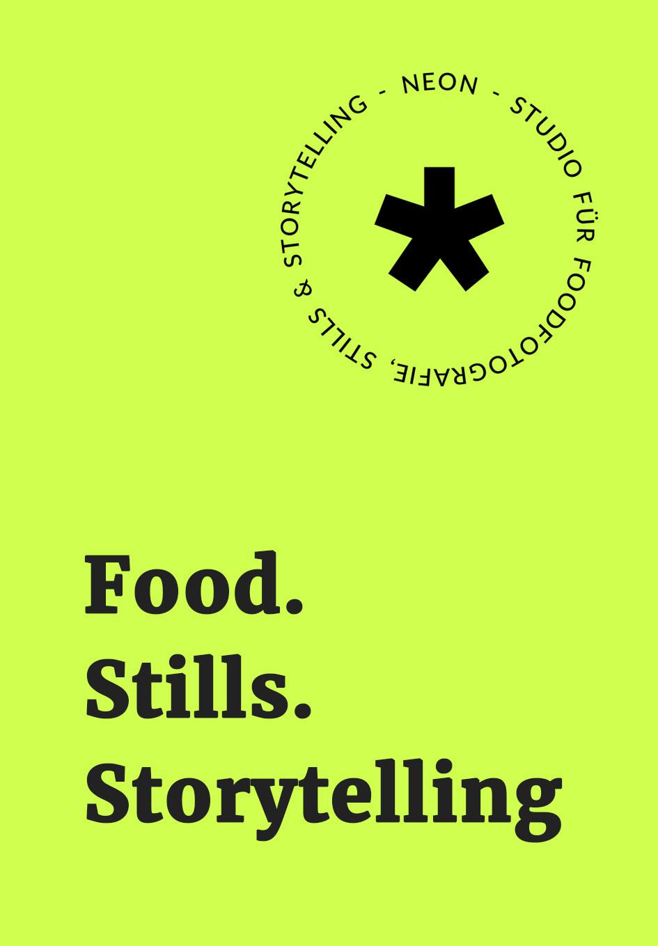 Food Stills Storytelling