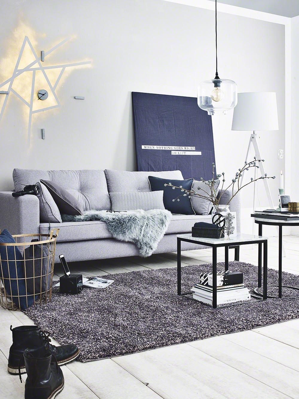 Interior und Lifestyle-Fotografie für DEPOT - modern eingerichtete Wohn- und Schlafzimmer