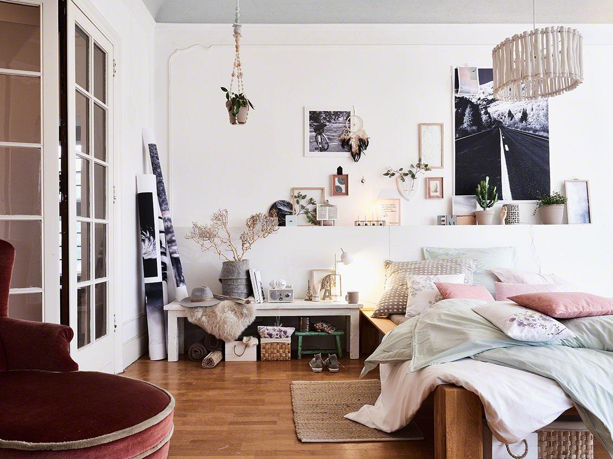 Interior Und Lifestyle Fotografie Für DEPOT   Modern Eingerichtete Wohn   Und Schlafzimmer
