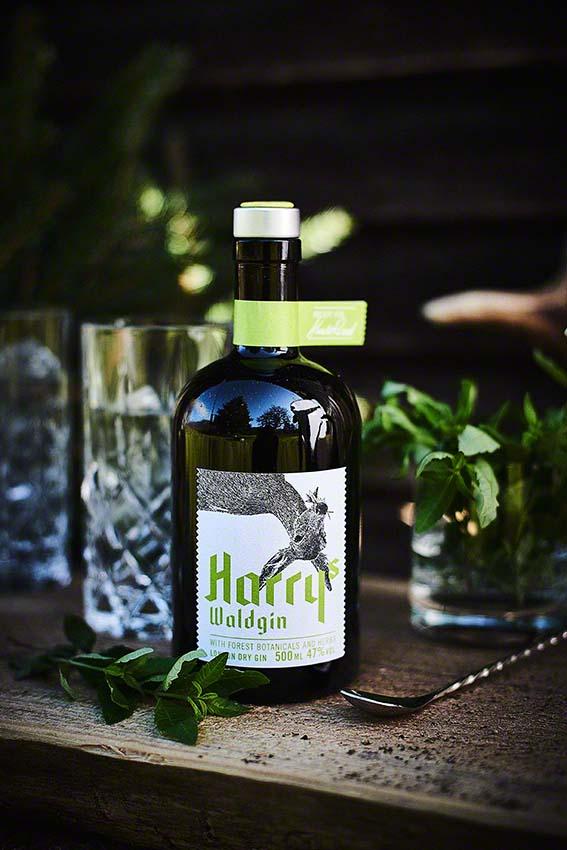 Produktfoto Harrys Waldgin Gin von Harald Rüssel