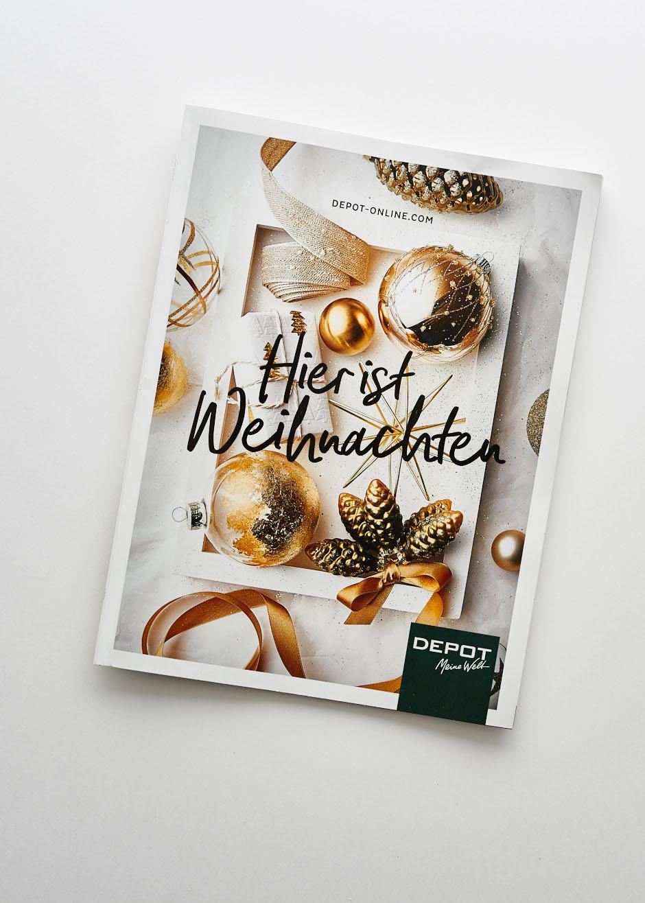Fotografie Weihnachts-Flyer für DEPOT Weihnachten 2017